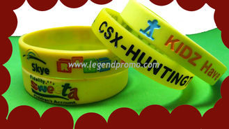 China Silicone wristbands, silicone bracelets supplier