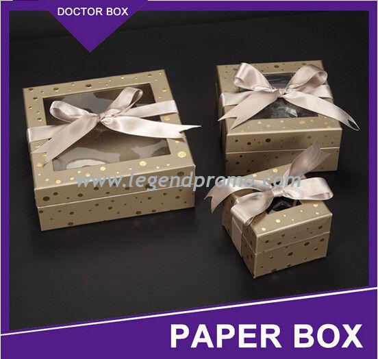 Wedding Door Gift: Custom Luxury Design Small Paper Wedding Door Gift Box