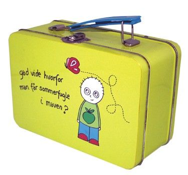 China Tin lunch box with handle and lock distributor