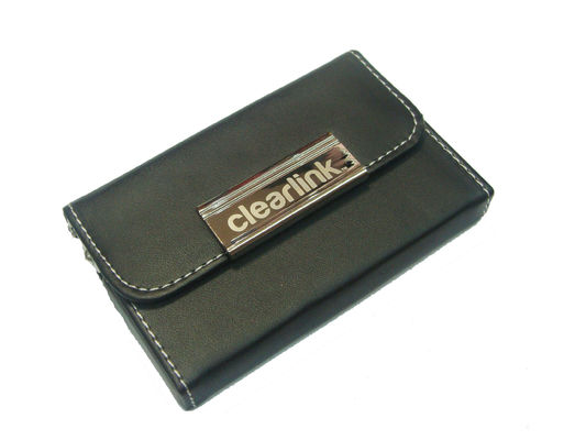 China Leatherette metal business card holder distributor