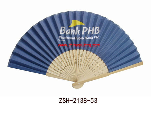 China Advertising bamboo fan factory