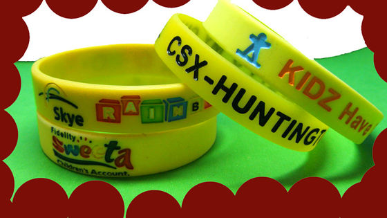 China Silicone wristbands, silicone bracelets distributor