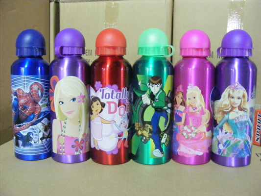 China Aluminum sports bottle, water bottle, drinking bottle distributor