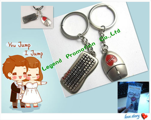 China Keychain for lover / Key ring finder for lover distributor