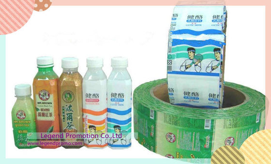 China Mineral water bottler neck and body printing label /PVC heat shrink sleeve label  distributor