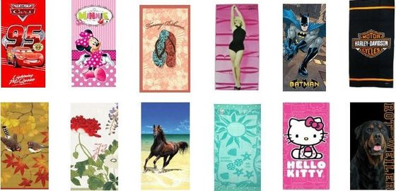 China Promotional beach towel / bath towel distributor